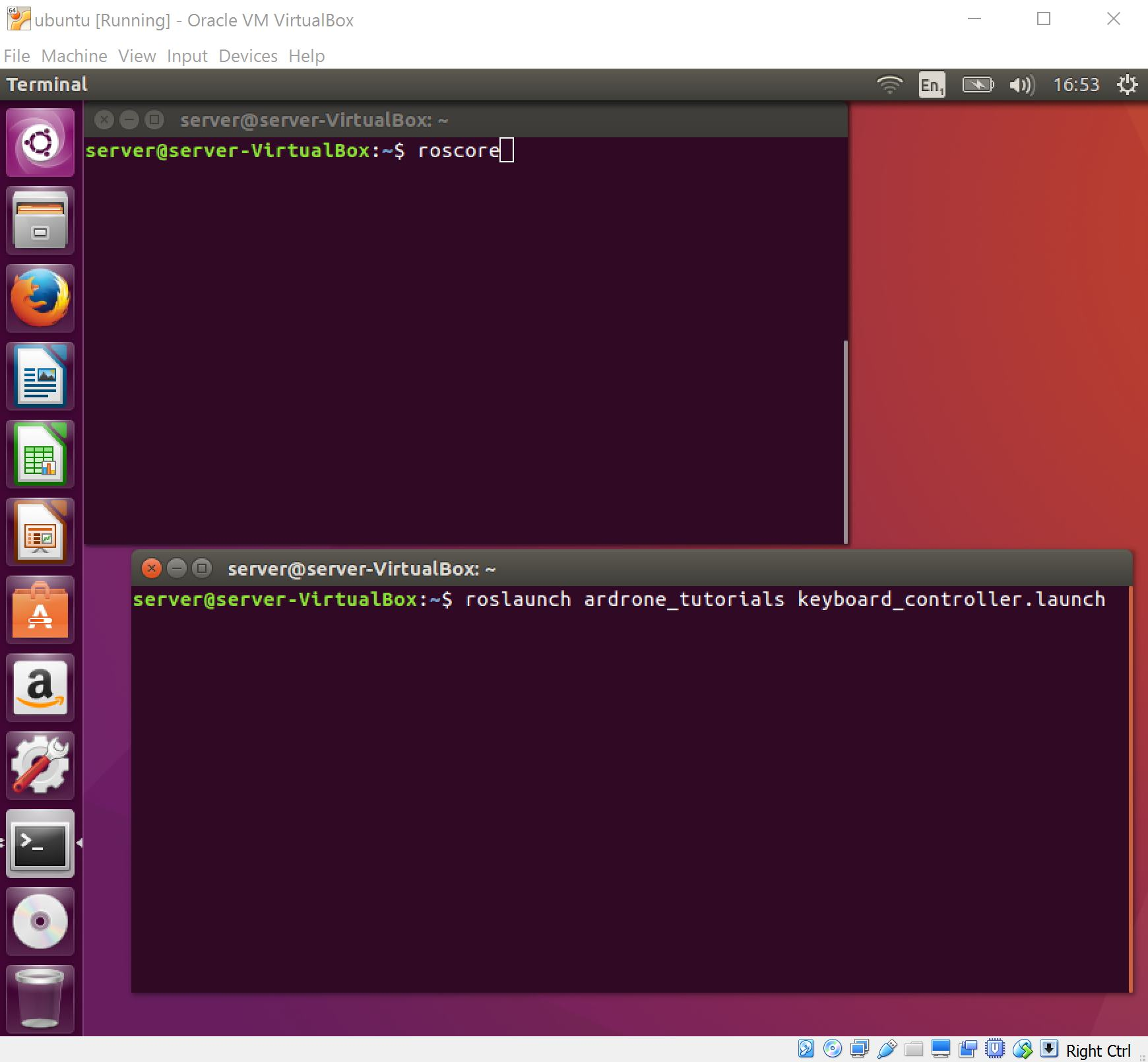 Getting started with Ardone 2, Ubuntu, VirtualBox and ROS (Part 3